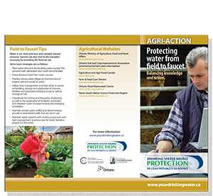cover of agriculture fact sheet