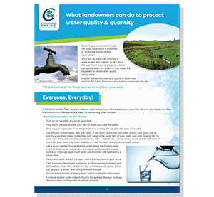 cover of landowner information fact sheet