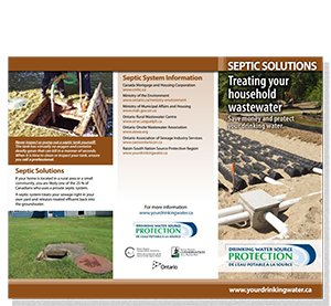 cover of septic solutions fact sheet